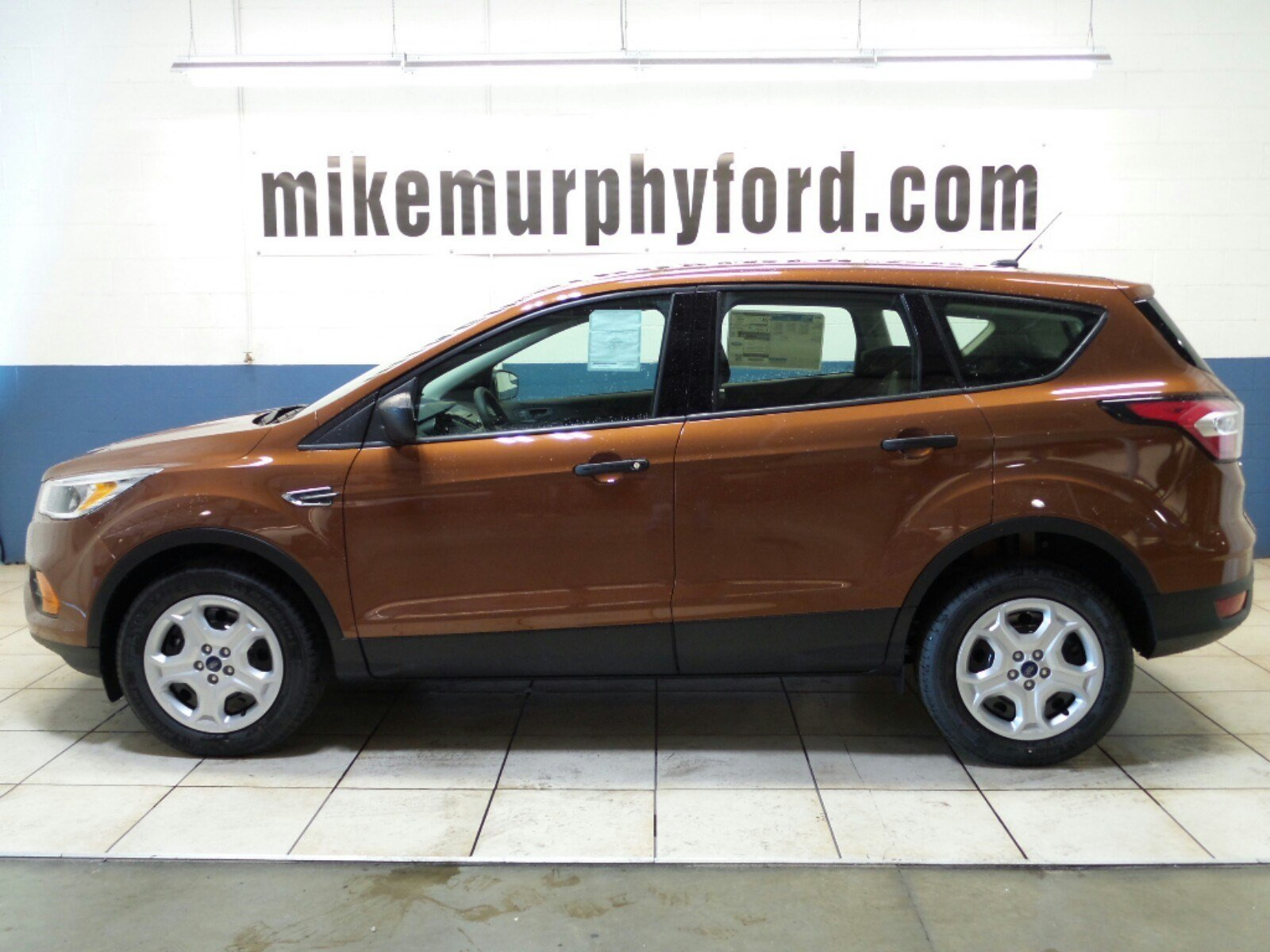 new 2017 ford escape s fwd sport utility in morton b50193 mike murphy ford. Black Bedroom Furniture Sets. Home Design Ideas